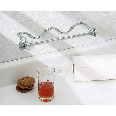 interdesign paper towel holder awavio wall mount for kitchen chrome. Black Bedroom Furniture Sets. Home Design Ideas