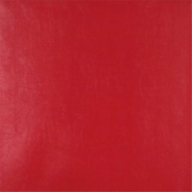54 in. Wide Red Vinyl Fabric - image 1 of 1