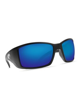 a302e1b735 Product Image Costa Del Mar Blackfin Matte Black Sunglasses Blue Lens 580G