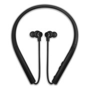 Photive Flex Wireless Neckband Earbud Bluetooth Headphones. Comfortable Lightweight Silicone Thats Sweatproof and Secure-Fit 12-Hour Battery and Microphone