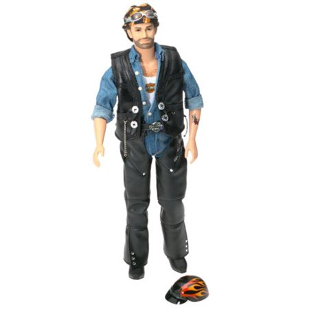 Harley Davidson Barbie Collectible Ken Doll - 2 Ken