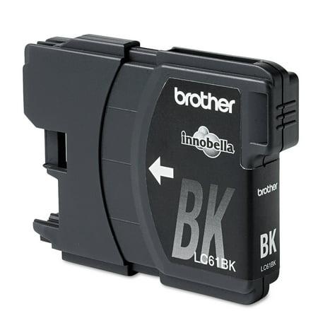 Brother LC61BK Innobella Ink, Black ()