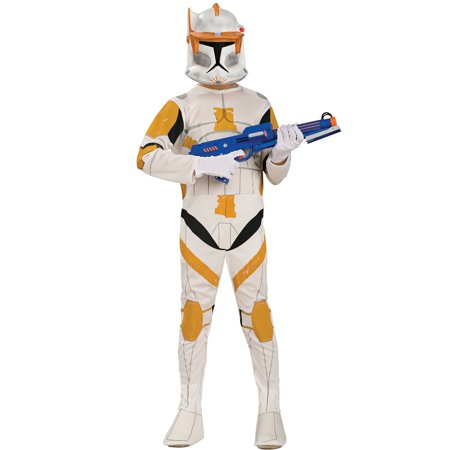 Super Troopers Halloween Costume Bear (Boy's Commander Cody Clone Trooper)