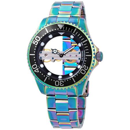 Men's 26602 Pro Diver Mechanical 2 Hand Black Dial Watch
