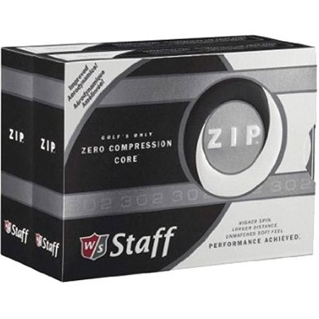 Wilson Staff Zip Golf Balls, 24 Pack - Flashing Golf Balls