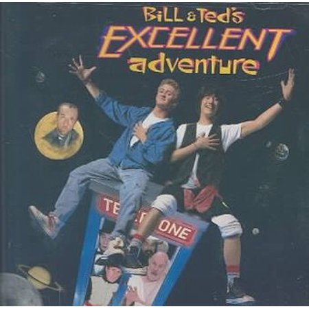 Bill & Ted's Excellent Adventure Soundtrack (Cd Bill Staines)