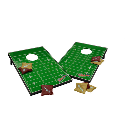 Tailgate Toss Football Field Cornhole Toss Game