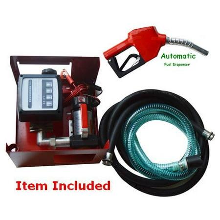 Techtongda Disel Fuel Transfer Pump Station 12V DC 10GPM Diesel Dispenser
