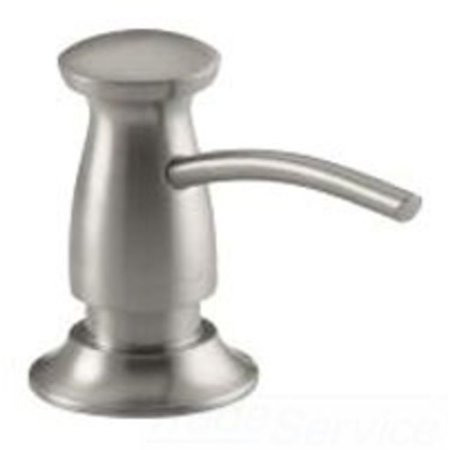 KOHLER K-1893-C-VS TRANSITIONAL SOAP/LOTION DISPENSER STAINLESS