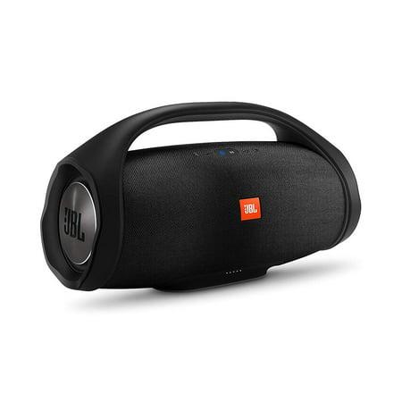 JBL Boombox Portable Bluetooth Waterproof Speaker (Black) (Certified Refurbished)