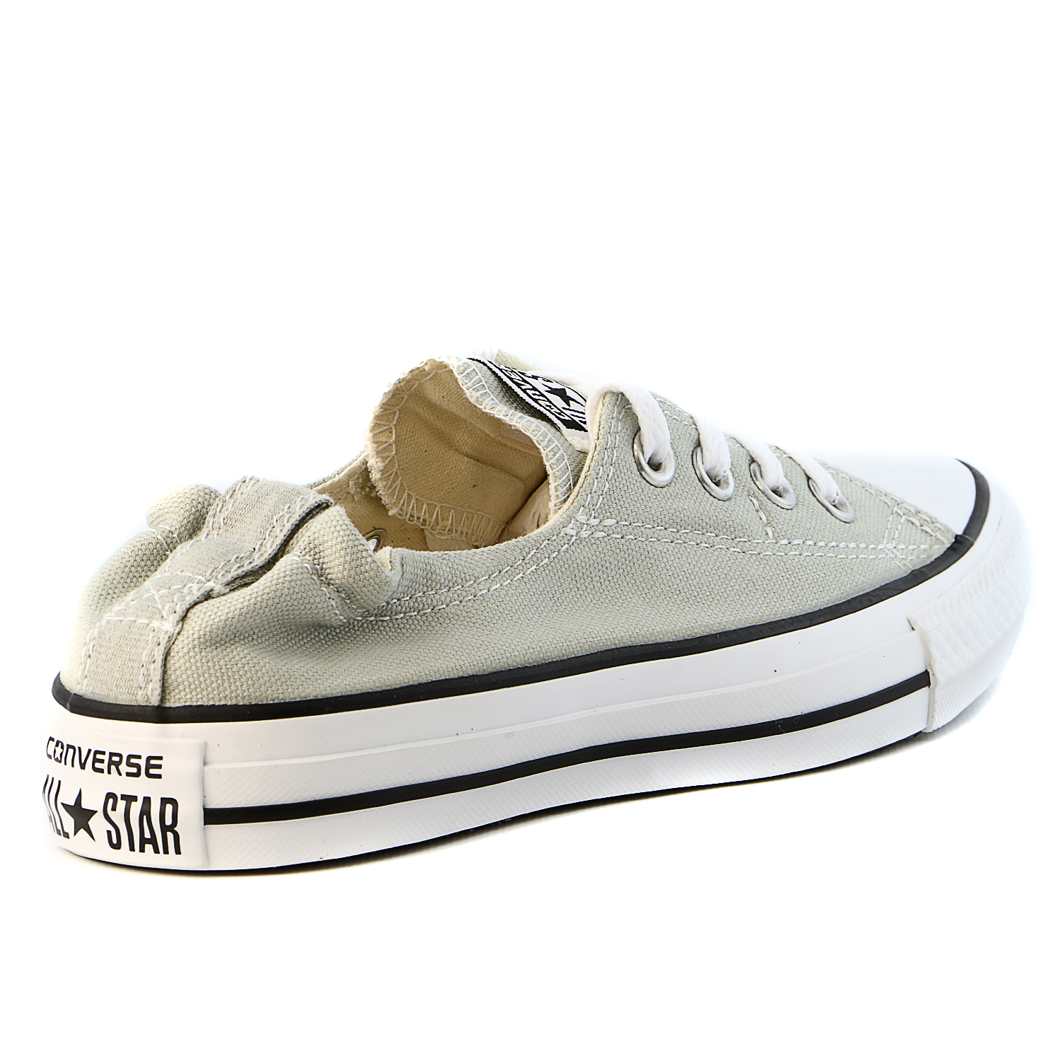 converse chuck taylor all star shoreline gray lace-up sneaker - 8.5 b(m) us
