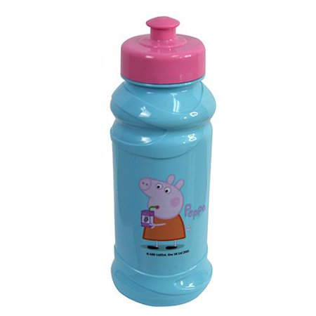 Peppa Pig 16 oz. Pull Top Water Bottle- 2PCS