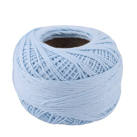 Crochet Spring (Home DIY Glove Weaving Sewing Crochet Knitting Yarn String Cord 60g Light Blue)