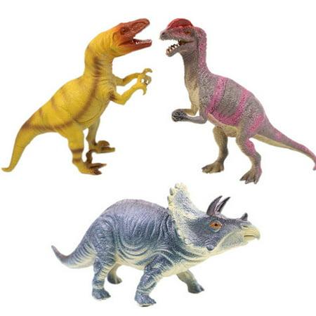 Sound Dinosaur Toys Play Model Children Festival Party Gift Figure (Random Color) - Festival Toys Wholesale