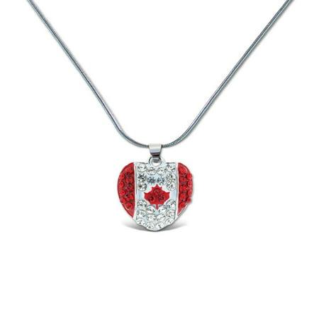 - Aqua79 Sparkling Crystal Pendant Necklace, Women Fashion Jewelry – Canada Heart