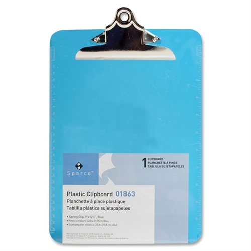 Sparco Transparent Clipboard 01863