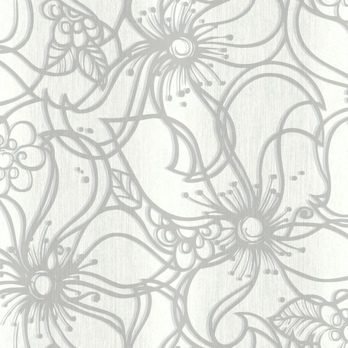 York Wallcoverings Paper Muse 33' x 20.5'' Whimsical Bloom Roll Wallpaper