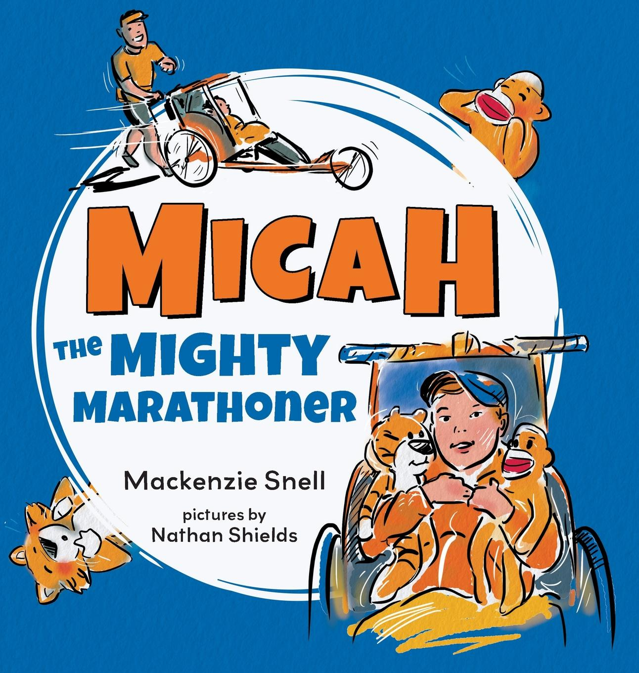 Mighty Micah the Marathoner (Hardcover)