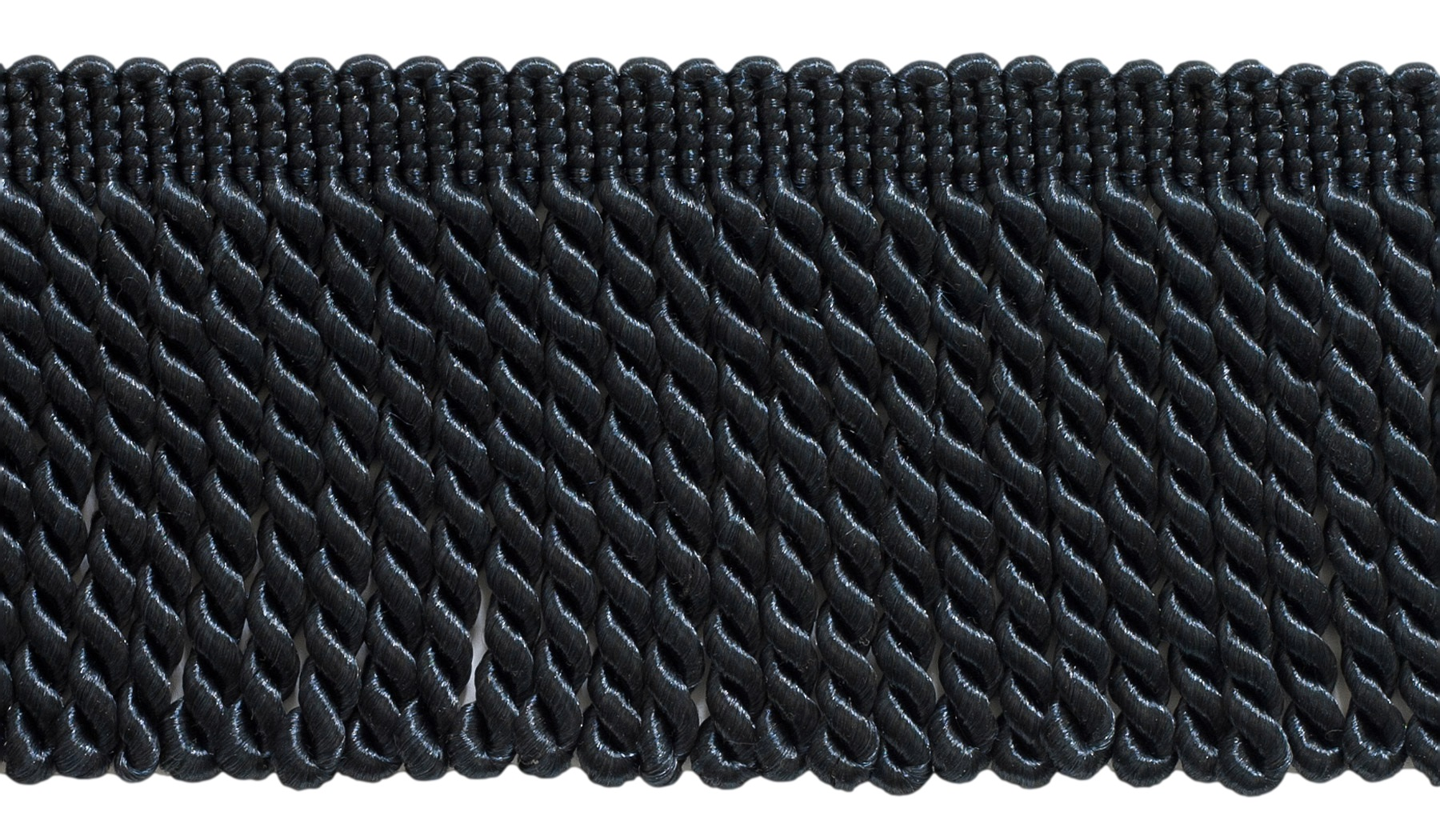 81 Ft  25 Meters 27 Yard Package Style# BFS3 Color K10 3 Inch Long Midnight Navy Blue Bullion Fringe Trim