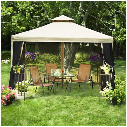 garden winds laketon gazebo replacement canopy top - Garden Winds Gazebo