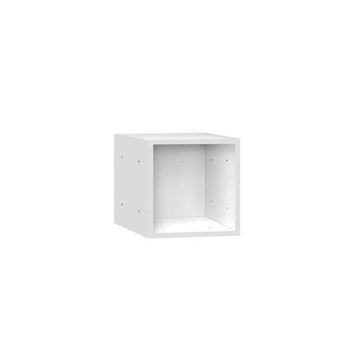 Salsbury 31515WHT Wood Cubby 15 Inch Cube - White
