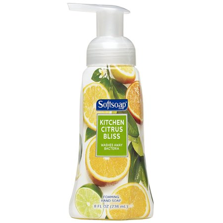Foaming Hand Soap, Kitchen Citrus Bliss, 8 Ounce, Vibrant aroma By Softsoap From