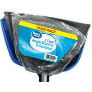 Great Value Angle Brooms and Dustpan, 3 Pack by Wal-Mart Stores, Inc.