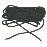 84 Inch 213 cm US Army Black Nylon Speedlace; Tactical Combat Boot Laces; Fused aglet shoelaces (2 Pair Pack)