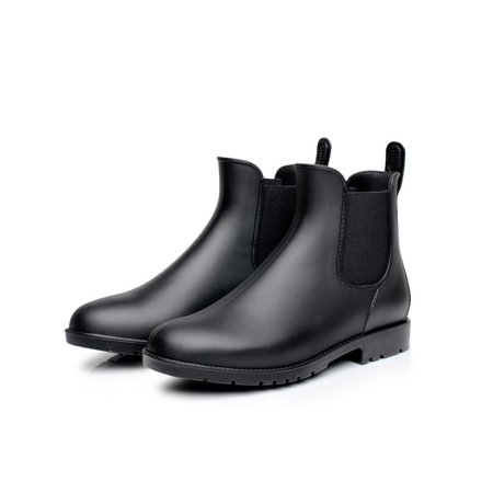 8ef4f88452fe Meigar - Meigar Mens Casual Chelsea boots ankle Punk high top rain boots  shoes outdoor pull on - Walmart.com