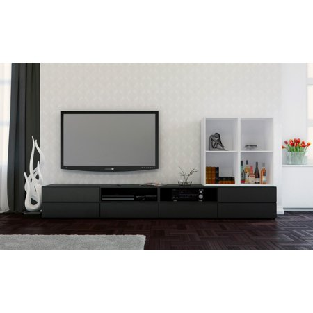 "Traffic Entertainment Kit with 2 Avenue 60"" TV Stands, Open Storage Unit, & Open Storage Unit"