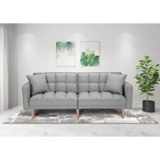 Best Sleeper Sofas - Gray Couch, SEVENTH Convertible Sofa Bed, Modern Fabric Review