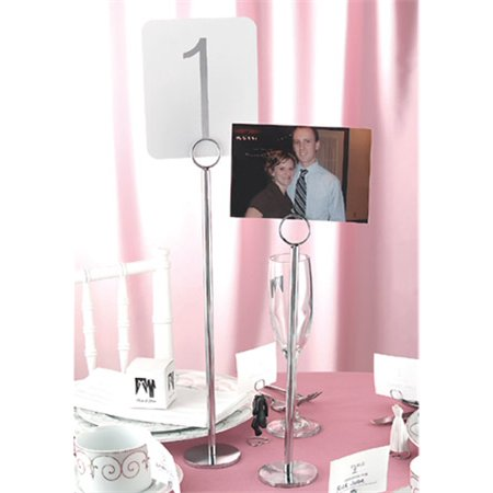 Wind Chime Table Fountain - 15'' Table Number Stand