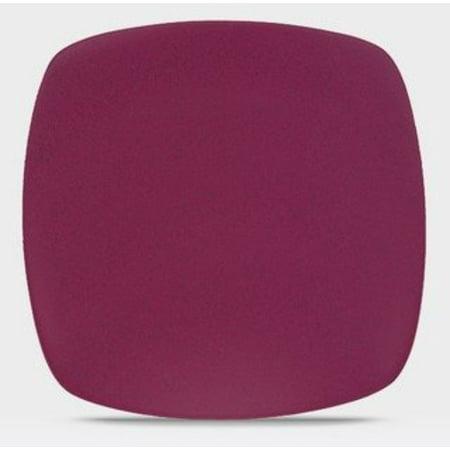 Noritake Kona Burgundy 11-3/4-Inch Square Plate