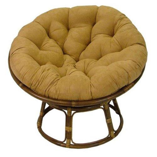 Bay Isle Home Papasan Premium Lounge Chair Cushion