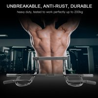 Door Mounted Pull Up Bar Hilitand Heavy Duty Doorway Chin Doorway Pull Up Bar Gym Exercise Fitness Home