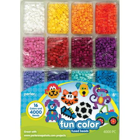 Perler Fun Color Fused Bead Tray