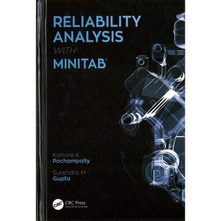 Reliability Analysis With Minitab  Hardcover