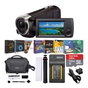 Sony HDR-CX405 1080p Full HD Handycam Camcorder Content Creator Bundle