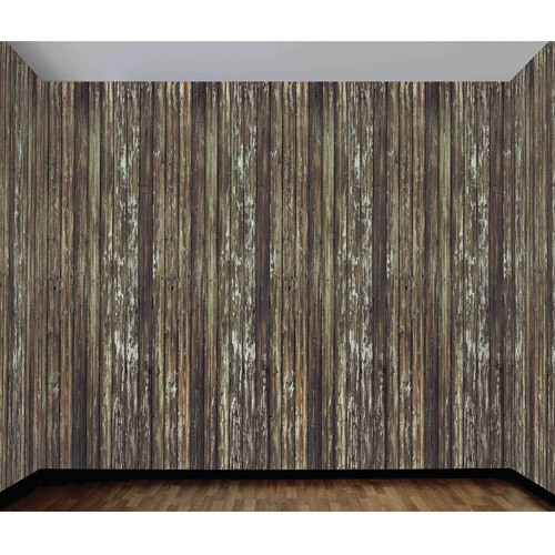 20' x 4' Wood Wall Roll Halloween Accessory by Generic