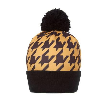 Winter Unisex Sublimation Cuffed Beanie w/ - Pharoah Hat