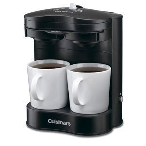 Cuisinart 2-Cup Brewer - 650 W - 2 Cup(s) - Matte Black