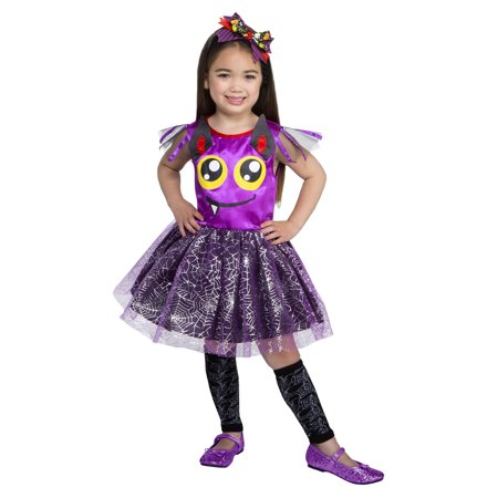 Toddler Batty Beauty 3T-4T Halloween Dress Up / Role Play Costume