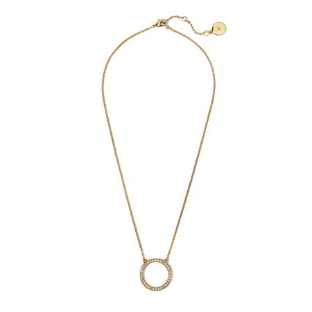 95f6217f27 Vince Camuto - Crystal Open Circle Pendant Necklace - Walmart.com
