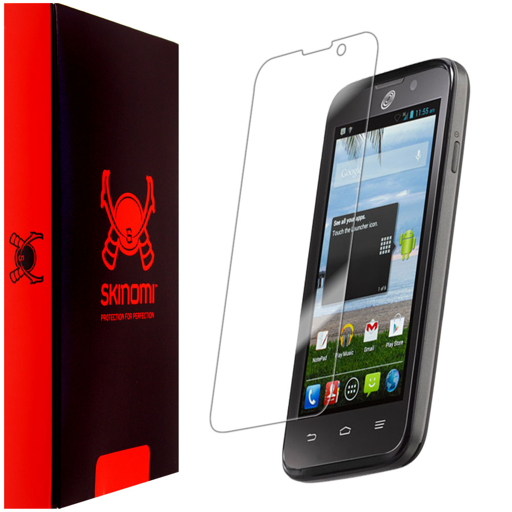 Skinomi Ultra Clear Shield Screen Protector Film Cover Guard for ZTE Majesty