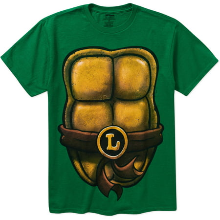 Teenage Mutant Ninja Turtle Big Men's Costume Graphic Short Sleeve T-Shirt, 2XL for $<!---->
