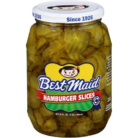 (2 Pack) Best Maid Hamburger Slices, 32 fl oz