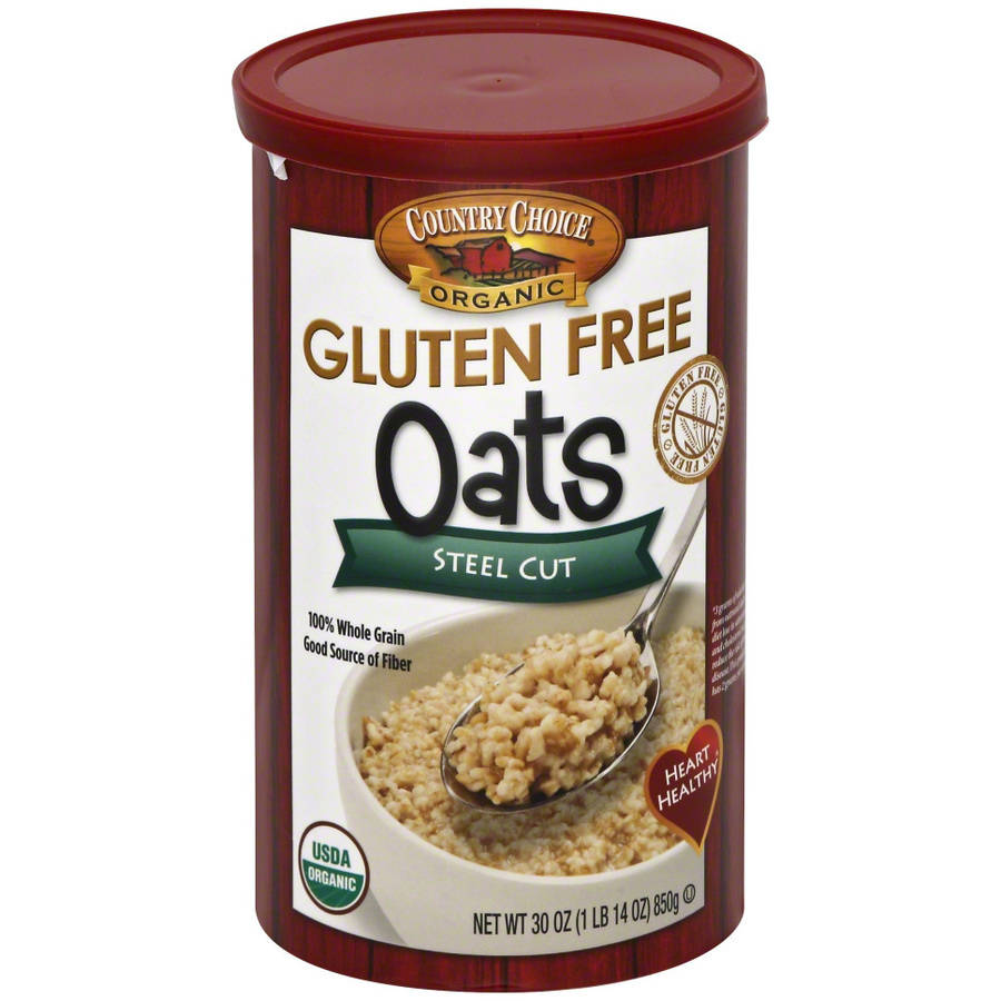 Country Choice Gluten Free Steel Cut Organic Oats, 30 oz, (Pack of 6)