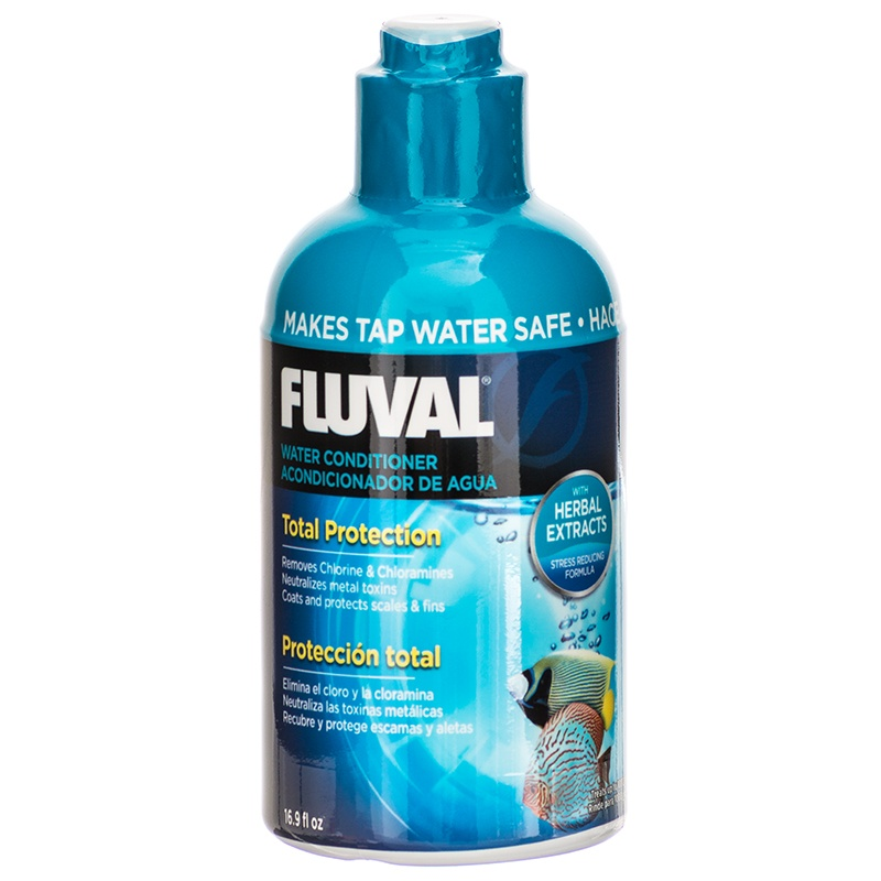 Fluval Water Conditioner for Aquariums 16.9 oz (500 ml) - Treats up to 1000 Gallons