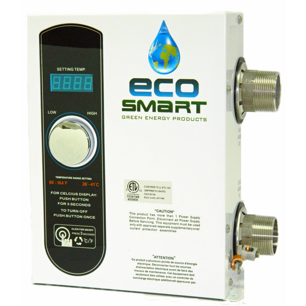 EcoSmart SMARTPOOL27 27 kW 240V Electric Pool Heater