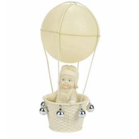 Department 56 Snowbabies Air Travel Hot Air Balloon Porcelain Figurine 4056442
